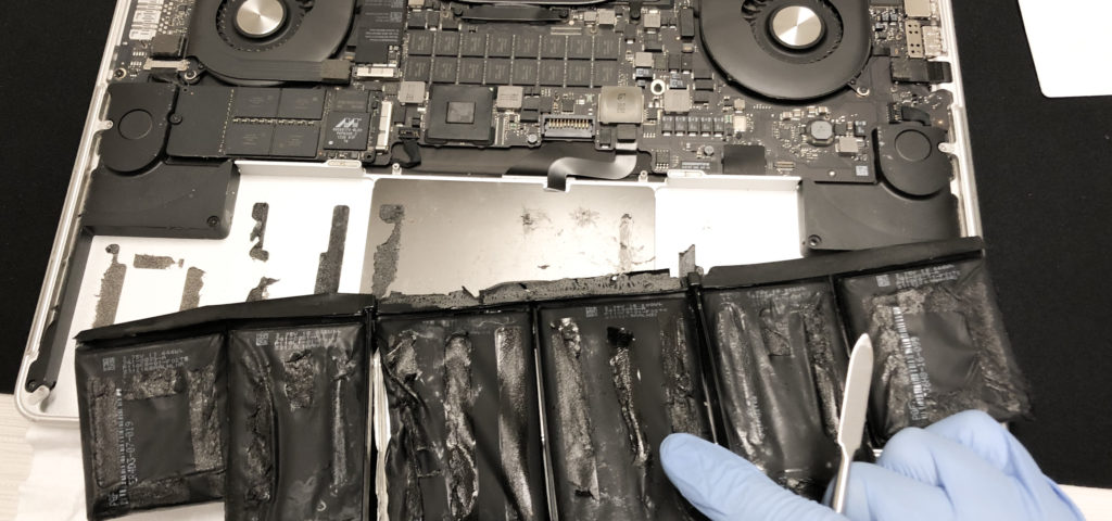 Replacing a MacBook Pro Battery Cells